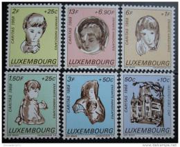 Poštovní známky Lucembursko 1968 Postižené dìti Mi# 779-84