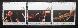 Poštovní známky Austrálie 1988 LOH Soul Mi# 1123-25
