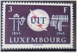 Poštovní známka Lucembursko 1965 ITU, 100. výroèí Mi# 714
