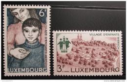 Poštovní známky Lucembursko 1968 Vesnièky SOS Mi# 775-76