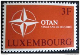 Poštovní známka Lucembursko 1969 Výroèí NATO Mi# 794