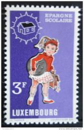 Poštovní známka Lucembursko 1971 Školaèka Mi# 835