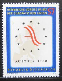 Poštovní známka Rakousko 1998 Prezidenství EU Mi# 2261