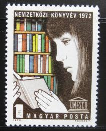 Poštovní známka Maïarsko 1972 Mezinárodní rok knihy Mi# 2759