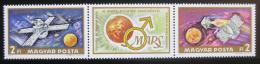 Poštovní známky Maïarsko 1972 Prùzkum Marsu Mi# 2739-40