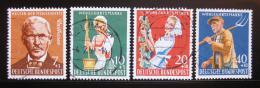 Poštovní známky Nìmecko 1958 Farmáøství Mi# 297-300