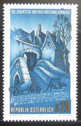 Poštovní známka Rakousko 1997 Opera Mrtvé mìsto Mi# 2213