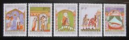 Poštovní známky Lucembursko 1974 Miniatury Mi# 893-97