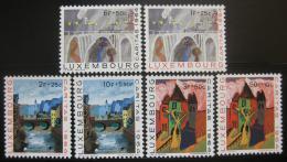 Poštovní známky Lucembursko 1964 Dìtské malby Mi# 703-08