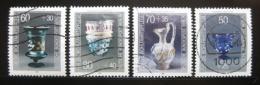 Poštovní známky Západní Berlín 1986 Výrobky ze skla Mi# 765-68
