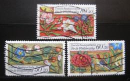Poštovní známky Západní Berlín 1985 Modlitební kniha Mi# 744-46