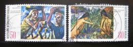 Poštovní známky Západní Berlín 1982 Umìní Mi# 678-79