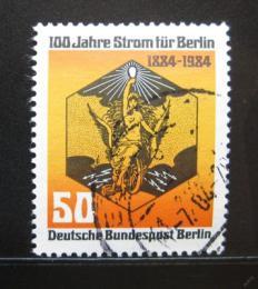 Poštovní známka Západní Berlín 1984 Elektøina, 100. výroèí Mi# 720