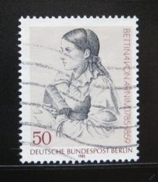 Poštovní známka Západní Berlín 1985 Bettina von Arnim, spisovatelka Mi# 730