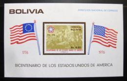 Poštovní známka Bolívie 1976 Americká revoluce Mi# Block 66