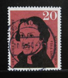 Poštovní známka Nìmecko 1960 Philipp Schwarzerd - Melanchthon Mi# 328