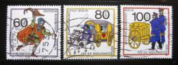 Poštovní známky Západní Berlín 1989 Historie pošty Mi# 852-54