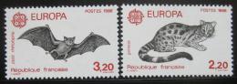 Poštovní známky Francie 1986 Evropa CEPT, Fauna Mi# 2546-47