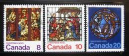 Poštovní známky Kanada 1976 Vánoce Mi# 641-43