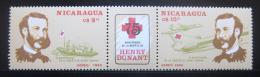 Poštovní známka Nikaragua 1985 Èervený køíž, Henri Dunant Mi# 2612-13