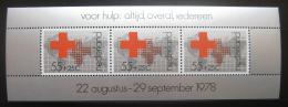 Poštovní známka Nizozemí 1978 Èervený køíž Mi# Bllock 18