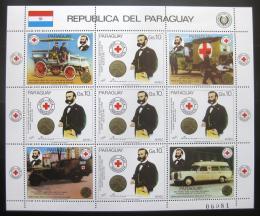 Poštovní známka Paraguay 1985 Èervený køíž Mi# 3896 Kat 32€
