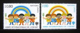 Poštovní známky OSN Ženeva 1979 Mezinárodní rok dìtí Mi# 83-84
