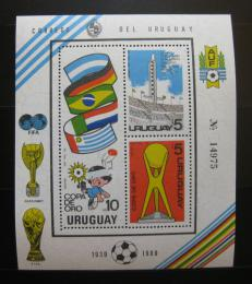 Poštovní známka Uruguay 1980 Fotbalový pohár Mi# Block 50