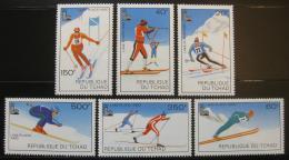 Poštovní známky Èad 1979 ZOH Lake Placid Mi# 877-82
