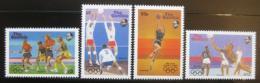 Poštovní známky Gambie 1987 LOH Soul Mi# 706-09