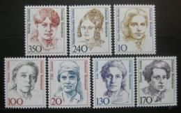 Poštovní známky Nìmecko 1988 Slavné ženy, roèník
