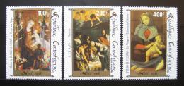 Poštovní známky SAR 1985 Náboženské umìní Mi# 1177-79