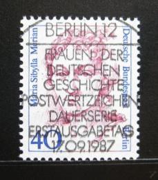 Poštovní známka Západní Berlín 1987 Maria S. Merian, malíøka Mi# 788