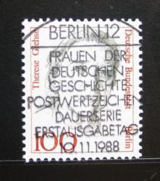 Poštovní známka Západní Berlín 1988 Theresa Giehse, hereèka Mi# 825