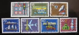Poštovní známky Nìmecko 1965 Transport Mi# 468-74