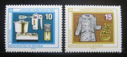 Poštovní známky DDR 1967 Lipský veletrh Mi# 1306-07