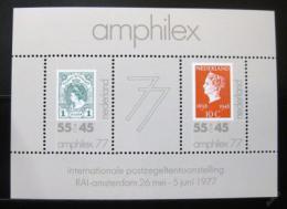 Poštovní známka Nizozemí 1977 AMPHILEX výstava Mi# Block 16
