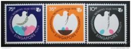 Poštovní známky Singapur 1975 Mezinárodní rok žen Mi# 243-45
