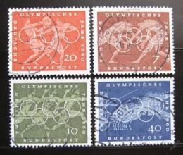 Poštovní známky Nìmecko 1960 LOH Øím Mi# 332-35