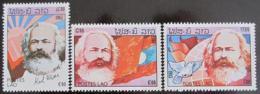Poštovní známky Laos 1983 Karel Marx Mi# 688-90