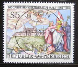 Poštovní známka Rakousko 1989 Klášter Melk Mi# 1965