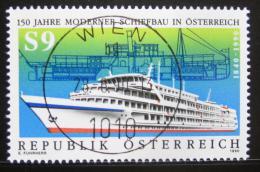 Poštovní známka Rakousko 1990 Stavba lodí Mi# 1999 - zvìtšit obrázek