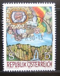 Poštovní známka Rakousko 1990 Moderní umìní Mi# 2001