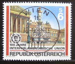 Poštovní známka Rakousko 1989 Vídeòský parlament Mi# 1964