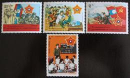 Poštovní známky Laos 1989 Lidová armáda Mi# 1131-34