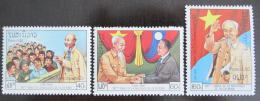 Poštovní známky Laos 1990 Ho Chi Minh Mi# 1207-09