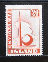 Poštovní známka Island 1939 Svìtová výstava NY Mi# 204