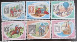 Poštovní známky Laos 1990 Výstava LONDON Mi# 1200-05