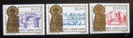 Poštovní známky Vatikán 1984 Svatý Damasus I. Mi# 864-66
