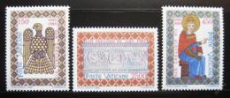 Poštovní známky Vatikán 1985 Svatý Øehoø VII Mi# 873-75